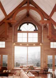 Timberframe Great Room Photo