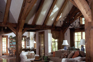 Reclaimed timber after